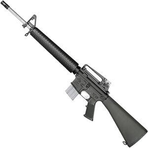 "Rock River LAR-15 NM A4 5.56 NATO AR-15 Semi Auto Rifle 20"" Barrel .223 Wylde Chamber 20 Rounds Free Float Handguard Fixed Stock Black Finish"