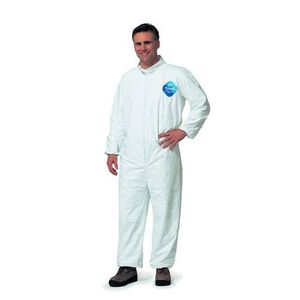 Armor Forensics DuPont Tyvek Coveralls Unisex Size X-Large White 3-5413