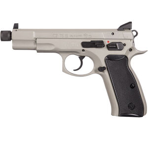 "CZ-USA 75B Omega 9mm Luger Semi Auto Handgun 5.21"" Threaded Barrel 10 Rounds Urban Grey"