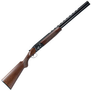 """Dickinson Hunter LT O/U Shotgun 12 Gauge 26"""" Barrel 2 Rounds Wood Stock Blued"""