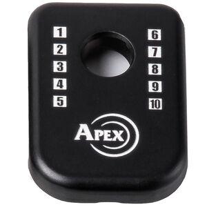 Apex Tactical Specialties J-Plate Magpul GLOCK Magazine Base Pads Aluminum Black