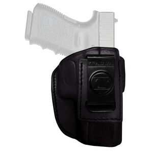 Tagua Gun Leather Super Soft Kel-Tec 380 Inside Waistband Holster Leather Right Hand Black SOFT-010