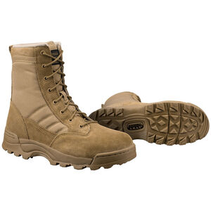 "Original S.W.A.T. Classic 9"" Men's Boot Size 9.5 Wide Non-Marking Sole Leather/Nylon Coyote 115003W-95"