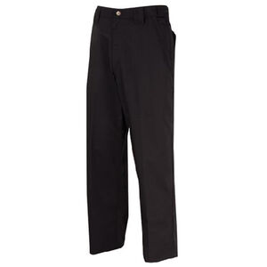 "Tru-Spec 24/7 Series Men's EMS Pants Polyester/Cotton 38"" Waist Unhemmed Black 1121087"