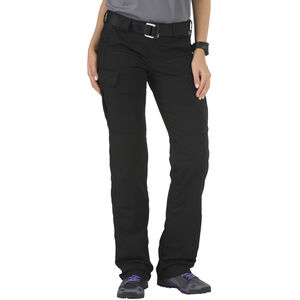 5.11 Tactical Women's Stryke Flex-Tac Pants Size 10R Black