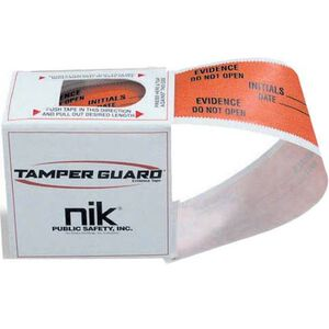 "NIK Public Safety Tamper Guard Evidence Tape 1.25"" x 84'"