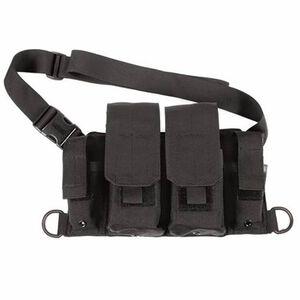 BLACKHAWK! Rifle/Pistol Bandoleer Cross-Torso/Shoulder Carry Nylon Black 55RB01BK