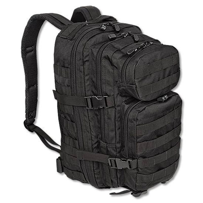 MIL-TEC Level III Assault Pack Black Heavy Duty 600 Denier Polyester Construction 14002002