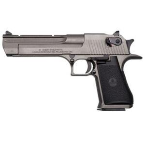 "Magnum Research Desert Eagle Mark XIX Semi Auto Pistol .44 Magnum 6"" Barrel 8 Rounds Weaver Accessory Rail Black Grips Tungsten Cerakote Finish"