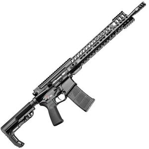 "POF USA P415 Edge Semi Auto Rifle .223 Rem/5.56 NATO 16.5"" Barrel 30 Rounds Short Stroke Gas Piston System 14.5"" M-LOK Rail Black Finish"