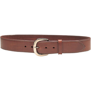 "Galco Gunleather SB2 Sport Belt 1.5"" Wide Brass Buckle Leather Size 34 Tan SB2-34"