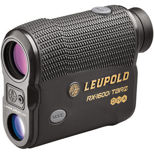 Leupold RX-1600i TBR/W with DNA Laser Rangefinder 6x Magnification 3 Reticles 1600 Yard Max Range Armor Coated Inclinometer Black
