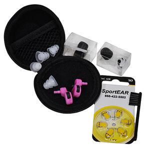 SportEar Ghost Stryke I Electronic Ear Plugs Pink