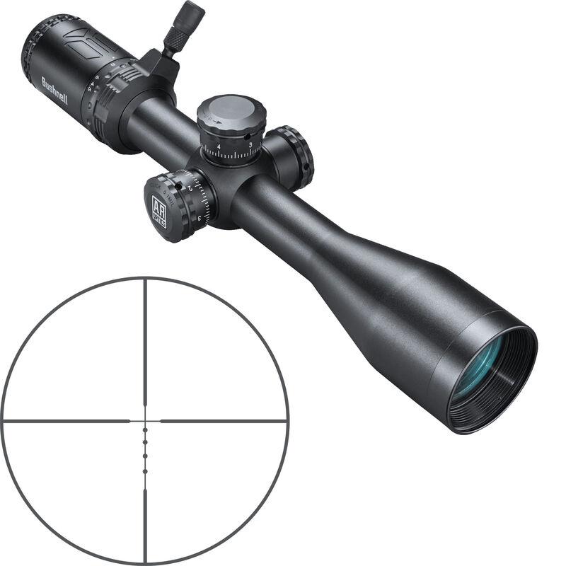 "Bushnell AR Optics 4.5-18x40 Riflescope Drop Zone 6.5 SFP Reticle 1"" Tube Side Parallax Adjustment Second Focal Plane Black"