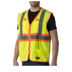 Dickies High Visibility ANSI Class 2 Solid Vest 3  Extra Large ANSI Yellow W38230VY9