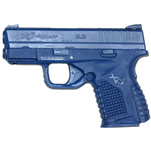 """Rings Manufacturing BLUEGUNS Springfield XDS 3.3"""" Pistol Weighted Training Aid Blue"""