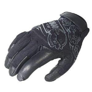Voodoo Liberator Gloves Leather Nylon Medium Black