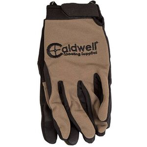 Caldwell Shooting Supplies Shooting Gloves Large/XL Tan 151294