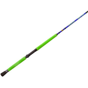 Lew's Fishing Wally Marshall Speed Stick Spinning Rod 8' Length 2 Piece 4-12 lb Line Rate 1/8-1/4 oz Lure Rate Medium/Light Power