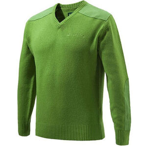 Beretta Special Purchase Men's Classic V-Neck Sweater Long Sleeve Large Light Green