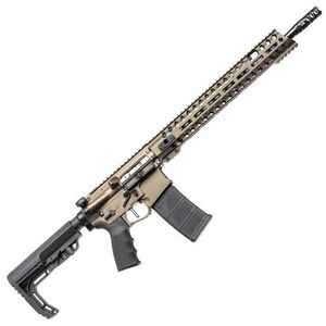 "POF USA Renegade Plus Semi Auto Rifle .223 Rem/5.56 NATO 16.5"" Barrel 30 Rounds Direct Gas Impingement System M-LOK Rail Burnt Bronze Finish"