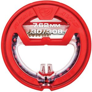 """Real Avid Bore Boss 7.62mm/.30/.308 Caliber Single Pass Pull Through Bore Cleaner 32"""" Cable 8.5"""" Mop with Storage Handle"""