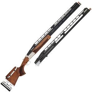 "TriStar Trap TT-15 CTA Break Action Shotgun 12 Gauge 32"" O/U Double Barrel and 34"" Unsingle Barrel 2.75"" Chambers FO Sight Adjustable Walnut Stock Blued"