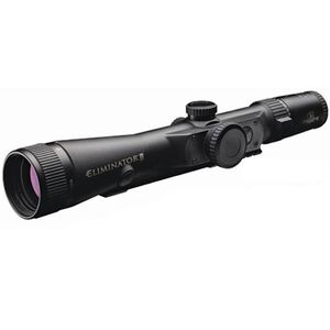 Burris Eliminator III Laser Scope 4-16x50 X96 Reticle Fixed Switch 1/8 MOA Adjustments Second Focal Plane Adjustable Objective Parallax Matte Black