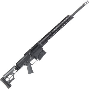 """Barrett Firearms Manufacturing MRAD .338 Lapua Mag Bolt Action Rifle 10 Rounds 24"""" Fluted Barrel Folding Stock Black Anodized"""