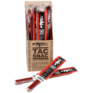 CMMG Tac Snac Pork and Beef Snack Sticks Peppered Flavor 12 Pack