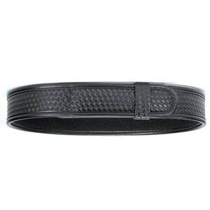 "Bianchi 7970 AccuMold Elite Buckleless Duty Belt 34-36"" Waist 2.25"" Wide hook and look Fasteners Four Part Laminate Basket Weave Black 22729"