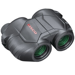Tasco Focus Free 8x25mm Compact Sized Binoculars Porro Prism Rubber Coated Black