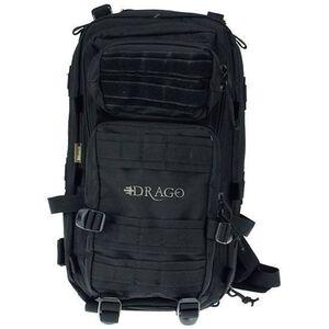 "DRAGO Gear Tracker Backpack 18""x11""x11"" 600D Polyester Black 14-301BL"