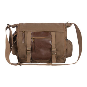 Fox Outdoor Deluxe Concealed Carry Messenger Bag Olive Brown 43-28