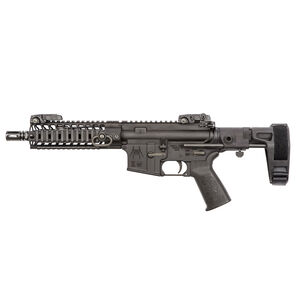 "Spikes Tactical AR-15 Semi Auto Pistol 5.56 NATO 8.1"" Barrel 7"" SAR3 Free Float Rail Pistol Length Gas System Maxim Pistol Brace A2 Flash Hider Matte Black"