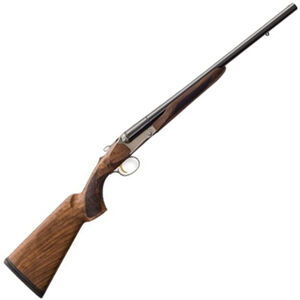 "Charles Daly 520T Coach 20 Gauge SxS Break Action Shotgun 20"" Barrels 3"" Chambers 2 Rounds Extractors Walnut Stock Matte Blued"