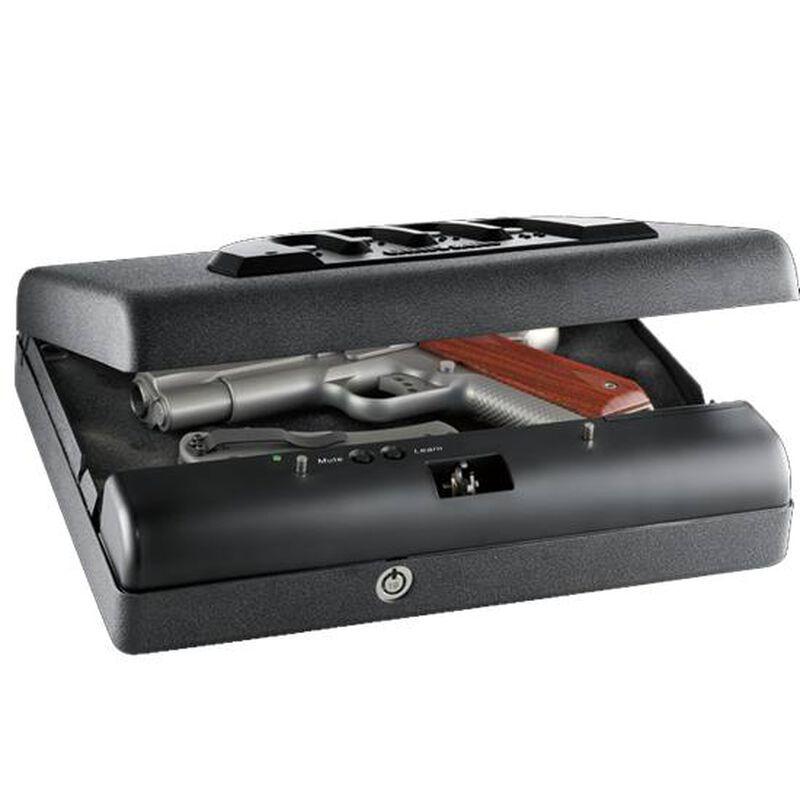"GunVault MicroVault XL MV 1000 Standard Safe 12""x10.25""x3.5"" 9 Volt Steel Black MV1000-STD"