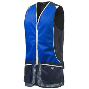 Beretta New Silver Pigeon International Style Shooting Vest Large Navy/Excel Blue