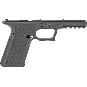 Grey Ghost Precision Combat Pistol Frame Full Sized/Standard GLOCK 17 Gen 3 Style Serialized Stripped Pistol Frame Gray