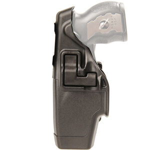 BLACKHAWK! SERPA Level 2 Duty Holster X-26 Taser Left Hand Polymer Black 44H015BK-L