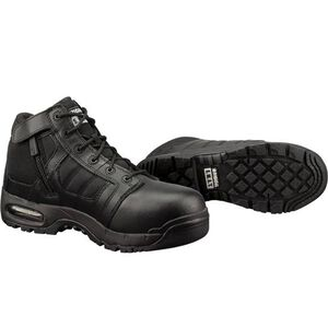 """Original S.W.A.T. Metro Air 5"""" SZ Safety Men's Boot Size 9.5 Wide Non-Marking Sole Leather/Nylon Black"""