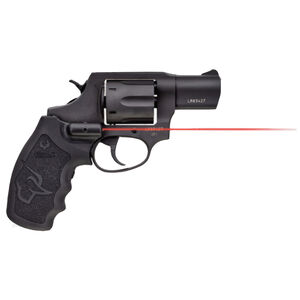 "Taurus 856 UL Ultralite .38 Special +P Revolver 2"" Barrel 6 Rounds Viridian Red Laser Grip Fixed Sights Rubber Grips Black Finish"