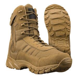 """Original S.W.A.T. Men's Altama Vengeance Side-Zip 8"""" Coyote Boot Size 8.5 Regular 305303"""