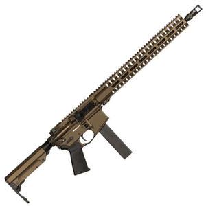 "CMMG Resolute 300 Mk9 Series 9mm Luger AR15 Style Semi Auto Rifle 16"" Barrel 32 Rounds CMMG RML15 M-LOK Hand Guard Cerakote Midnight Bronze"