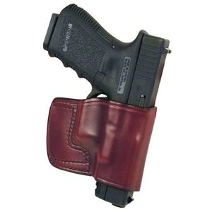 Don Hume J.I.T. SIG P238/Colt Mustang Slide Holster Right Hand Brown LeatherJ986500R