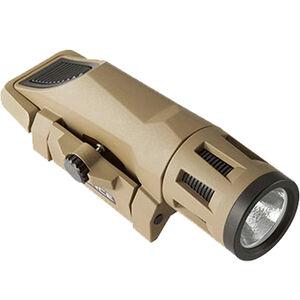 Inforce WML Weapon Light White/IR LED 400 Lumens Picatinny Mount CR123A Polymer FDE W-06-2