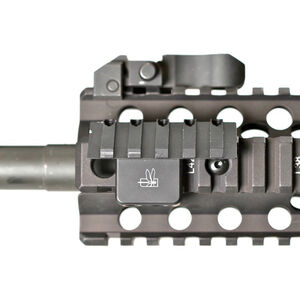 Impact Weapons Components THORNTAIL Offset Adaptive 1913 Picatinny Rail Mount CNC Machined from Billet Aluminum Hard Coat Anodized Matte Black Finish