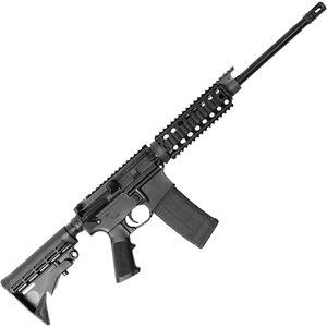 """BCI Defense SQS15 Sentry AR-15 Semi Auto Rifle 5.56 NATO 16"""" Barrel 30 Rounds Collapsible Stock Black"""