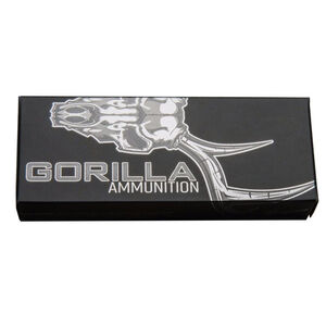Gorilla Ammunition .308 Winchester Ammunition 20 Rounds 110 Grain Solid Copper Lehigh Controlled Chaos Lead Free Projectile 3100fps