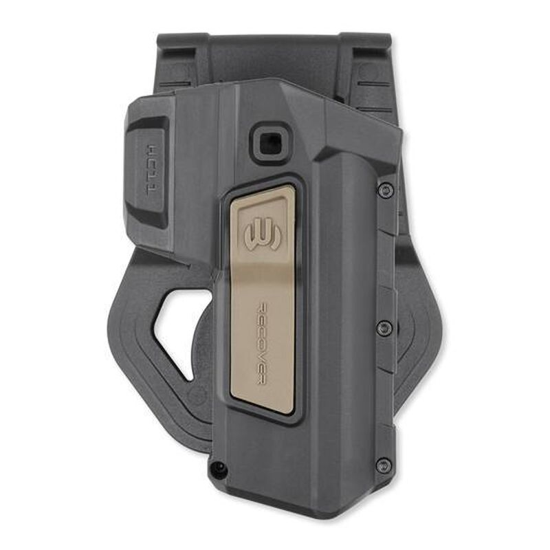 Recover Tactical Active Retention Paddle Holster 1911 Right Hand Polymer Tan HC11ART